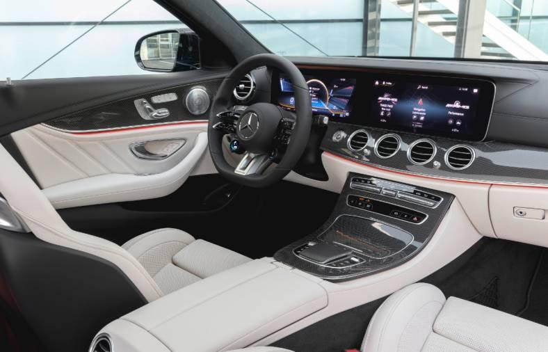 2021 Mercedes-AMG E 53 4Matic+ interior