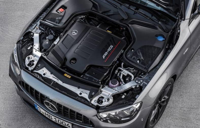 2021 Mercedes-AMG E 53 4Matic+ engine