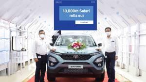 2021 Tata Safari crosses 10,000-unit production mark in 5 months