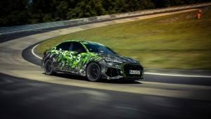 2021 Audi RS 3 sedan breaks compact car Nurburgring lap record