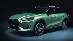 MG One SUV revealed based on new modular architecture
