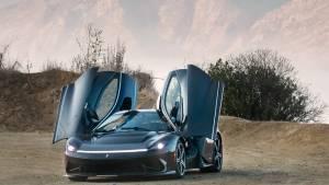 Mahindra-owned 1,900PS Pininfarina Battista electric GT makes public debut