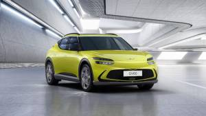 Genesis reveals images of its GV60 electric car