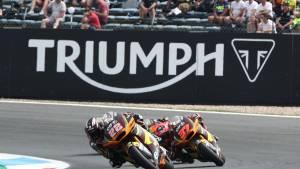 Triumph will continue to power FIM Moto2 until 2024