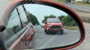 Ford EcoSport Facelift spied again - Key design changes revealed