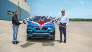 Renault India begins Kiger exports to South Africa