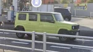 Suzuki Jimny 5-door spied sans camouflage in Google Street View