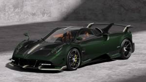Pagani celebrates 10 years of Huayra with the BC Pacchetto Tempesta