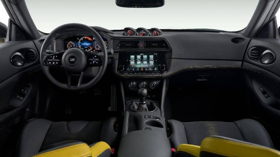 Nissan Z interiors