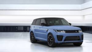 Land Rover Special Vehicles Operations unveil the a Limited Edition Range Rover Sport SVR