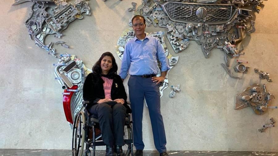 Deepa Malik and MG Motors