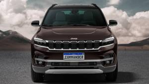 Jeep officially reveals the Commander SUV