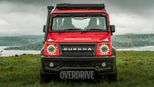 Long-wheelbase 5-door Force Gurkha under development