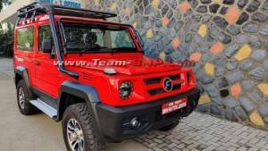 2021 Force Gurkha BS6 4x4 spied undisguised ahead of September launch