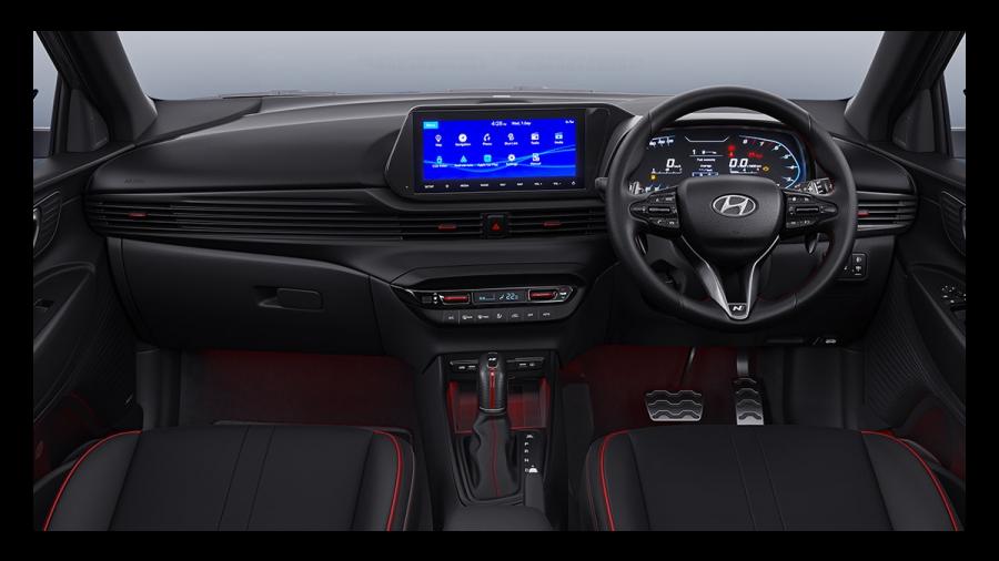 2021 Hyundai i20 n line interior