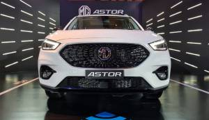 2021 MG Astor first look: Interior and tech impressions