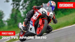 2021 TVS Apache RR310 first ride review - the 310 is race-ready!