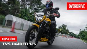 2021 TVS Raider 125 first ride review by OVERDRIVE - will the Gen Z love the new 125?