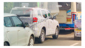 More Mahindra Scorpio exterior details seen ahead of early 2022 launch