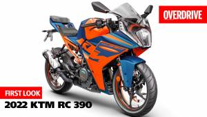 2022 KTM RC 390 first look and details