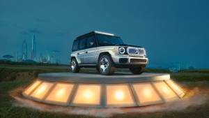 Mercedes-Benz Concept EQG - Mercedes unveil an all electric concept of the G-Wagen