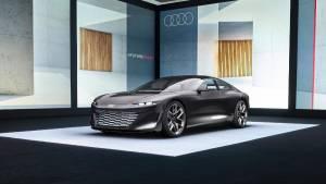 Audi to present its futuristic Audi grandsphere at the IAA 2021