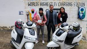 World's highest charging station inaugurated in Kaza, Spiti Valley