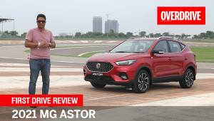 2021 MG Astor | First Drive Review