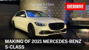 Making of the locally-assembled 2021 Mercedes-Benz S-Class in India