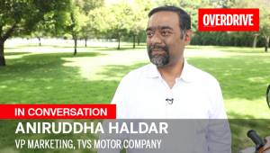 Interview: Aniruddha Haldar, VP Marketing, TVS Motor Company