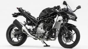 Kawasaki reveals prototype hybrid motorcycle