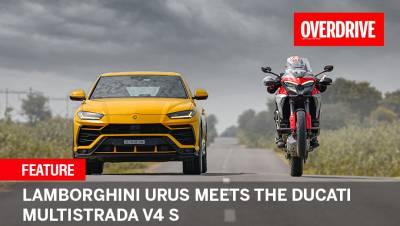 Lamborghini Urus meets the Ducati Multistrada V4 S | Feature
