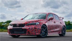 Honda officially tease the upcoming 2022 Civic Type-R