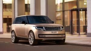 Jaguar Land Rover unveil the 2022 Range Rover